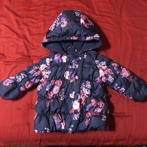 Rothschild puffer jacket for little girl